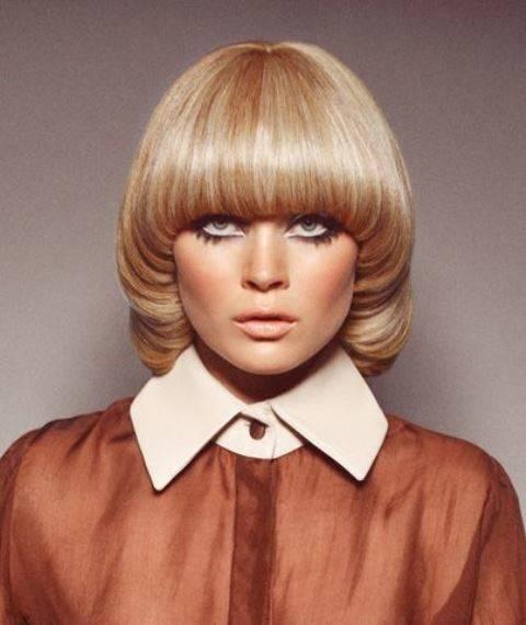 Женские прически 60-х годов с фото на длинные, средние и короткие волосы