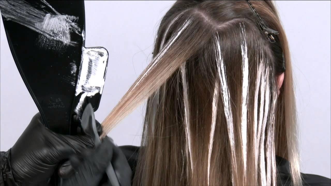 Техника окрашивания балаяж – схемы и фото | фото волос, причесок, стрижек