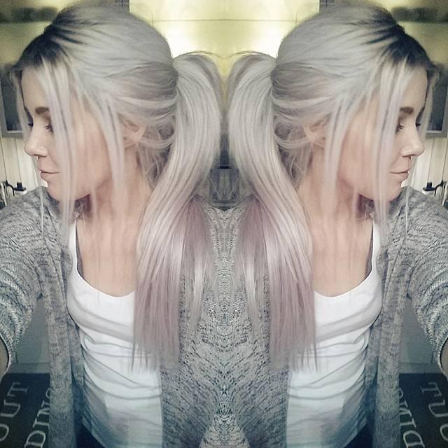 Окрашивание волос в два цвета: красивая двухцветная покраска (фото)