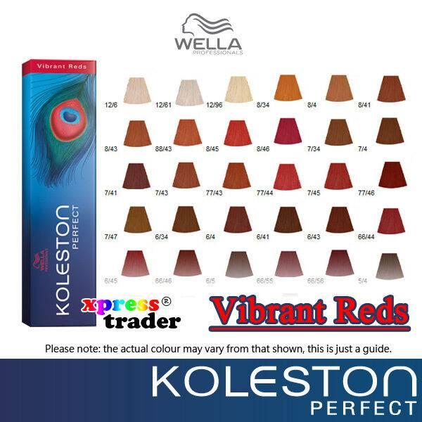 Краска велла колестон - палитра цветов, отзывы, фото до и после (wella koleston)