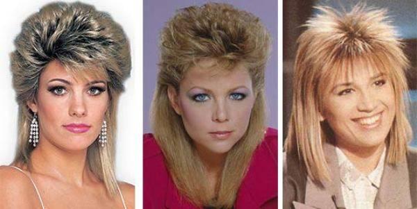 Модные женские прически в стиле 80-х годов: фото, как сделать укладку   женский журнал читать онлайн: стильные стрижки, новинки в мире моды, советы по уходу
