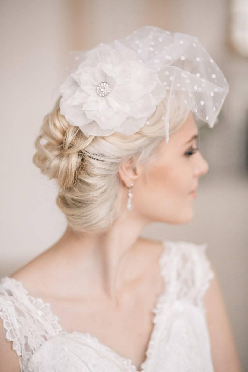 Лучшие свадебные прически на короткие волосы 55 фото