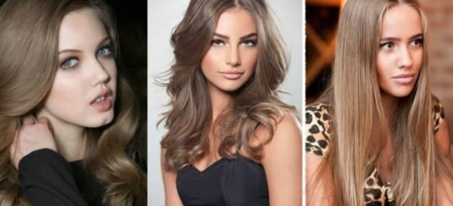 Русый цвет: как выглядит окрашивание волос в натуральный