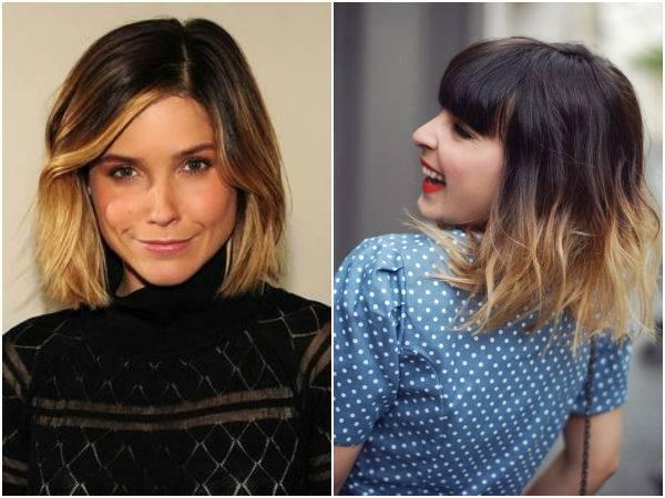 Окрашивание волос в два цвета — 13 лучших вариантов