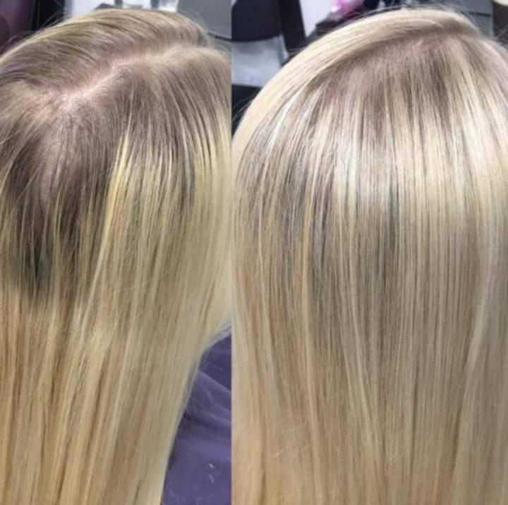 Эффектное преображение — мелирование на русые волосы и их тонирование