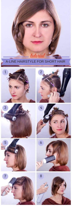 Домашние прически своими руками » варианты укладки волос в домашних условиях