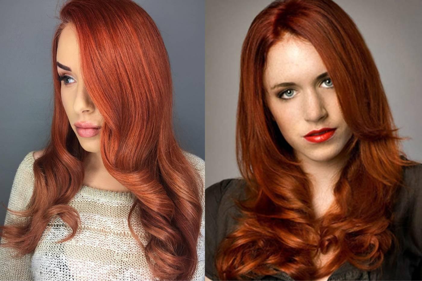 Красивый каштановый цвет волос фото
