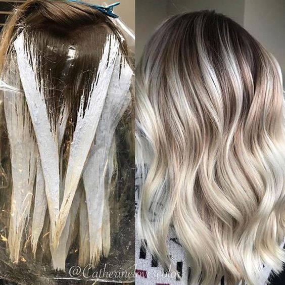 Секреты красоты: окрашивание балаяж на темные волосы и фото результатов