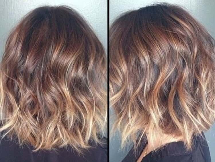 Колорирование на короткие волосы: боб-каре, каре с удлинением и короткий каскад (фото)