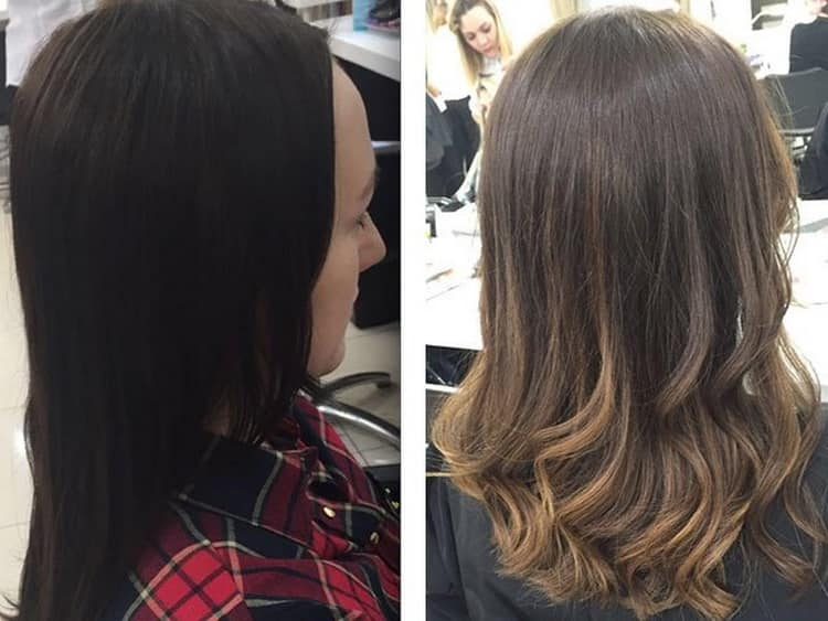 Мелирование на русые волосы — основные виды окрашивания для средних и длинных локонов
