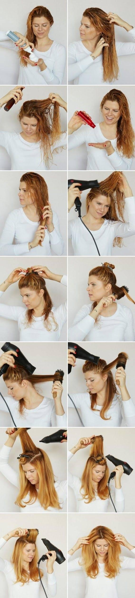 Как уложить короткие волосы пошагово своими руками. фото, видео