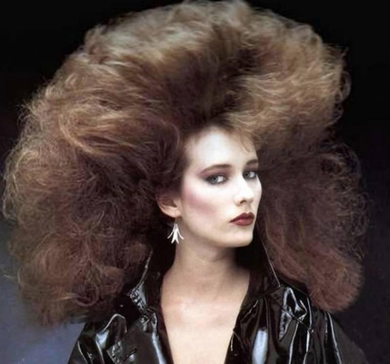 Женские прически, популярные в 80-е годы
