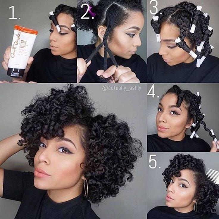 Как сделать афро кудри в домашних условиях. афро кудри на длинные, короткие и средние волосы, фото